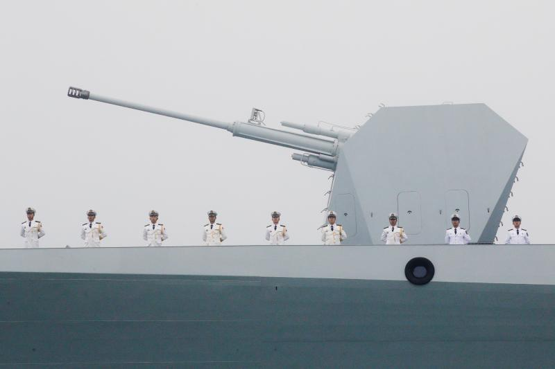 A naval parade in Qingdao, China, April 2019