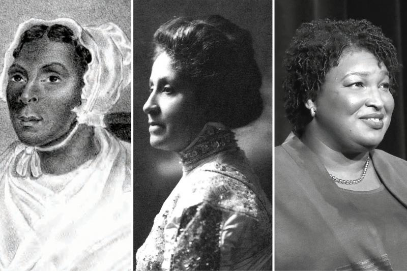 Jarena Lee, Mary Church Terrell, and Stacey Abrams