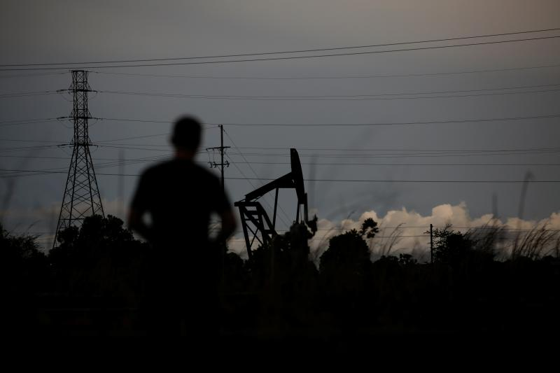An abandoned oil pump near El Tigre, Venezuela, June 2019