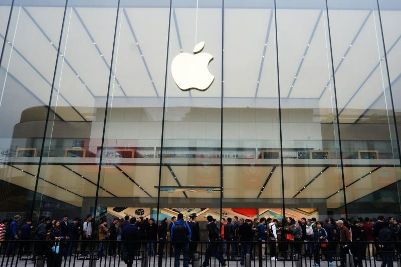 An Apple store in Hangzhou, China, March 2016