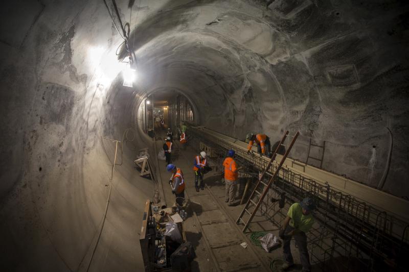 Tunneling under New York City, November 2015