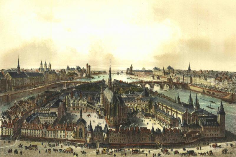 Paris, 1850