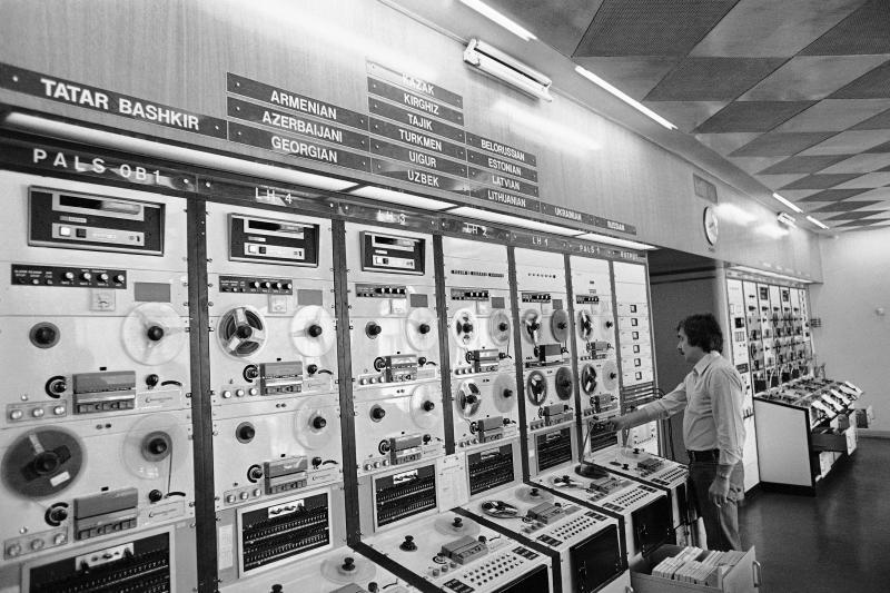 At Radio Free Europe/Radio Liberty in Munich, August 1977