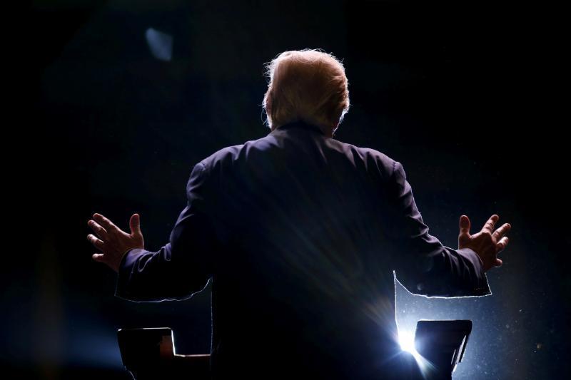 Trump in Macon, Georgia, November 2015