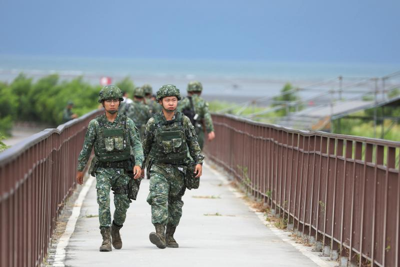 A military drill simulating a Chinese invasion in Pingtung, Taiwan, May 2019
