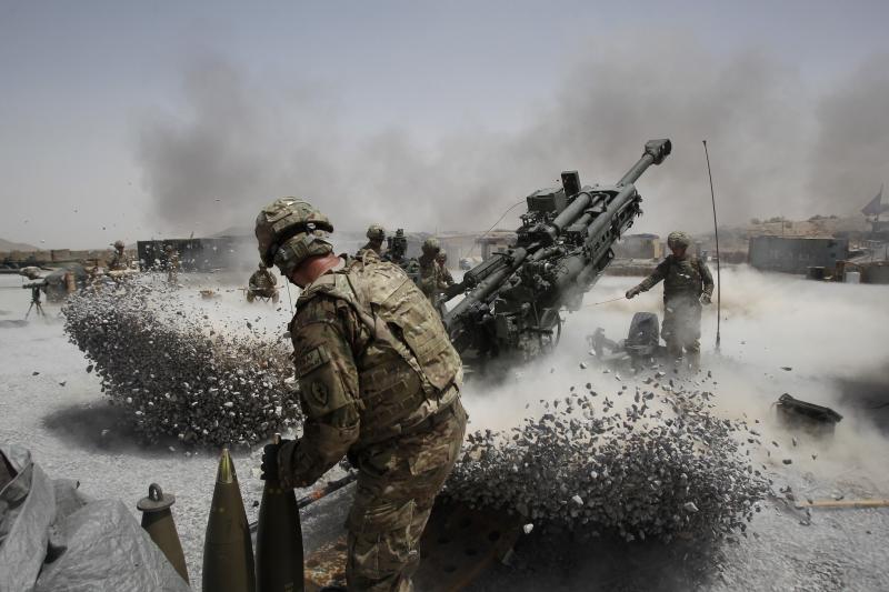 U.S. soldiers in Kandahar Province, Afghanistan, June2011