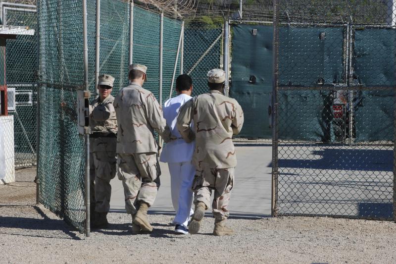 At Guantánamo Bay, Cuba, February 2016