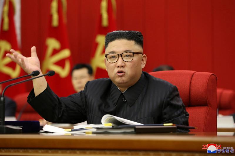 Kim Jong Un in Pyongyang, June 2021