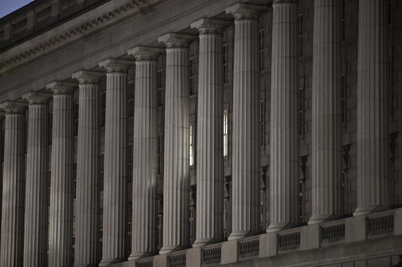 The headquarters of the Internal Revenue Service, Washington, D.C., August 2009