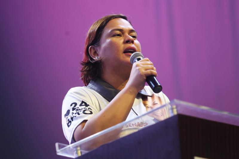 Sara Dutertein Davao City, Philippines,May 2019