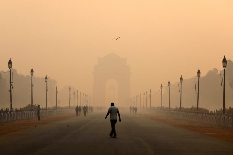 Smog in New Delhi, India, October2018