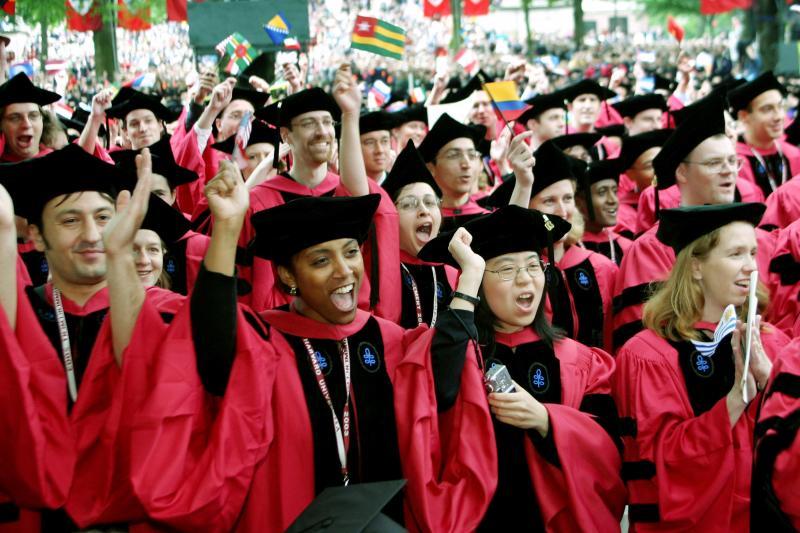 Ruling class: commencement at Harvard, Cambridge, Massachusetts, June 2003
