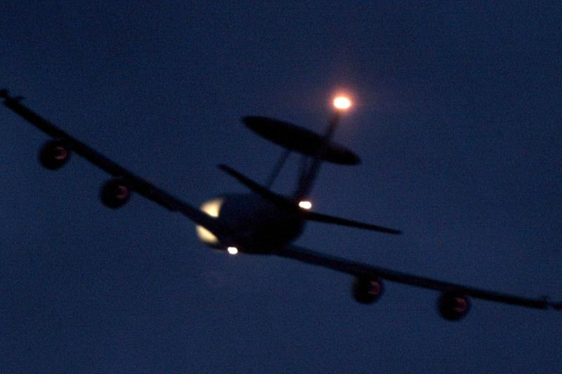 A USAF AWACS in 1999.