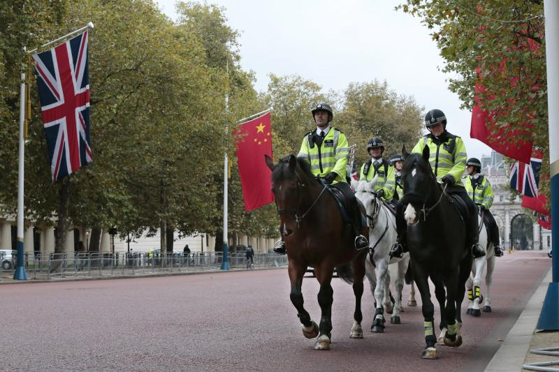 Preparation for Xi's visit to the UK