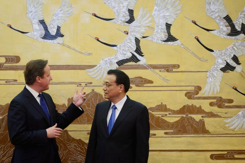 David Cameron in Beijing