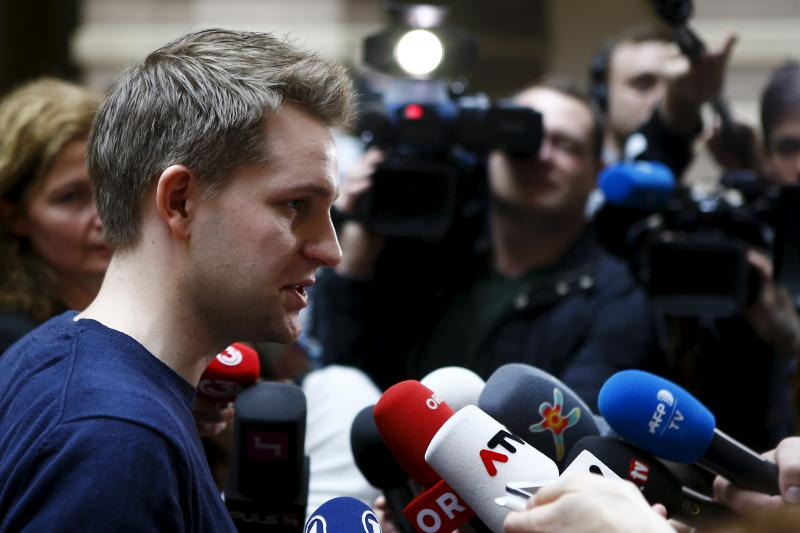 Austrian data activist Max Schrems.