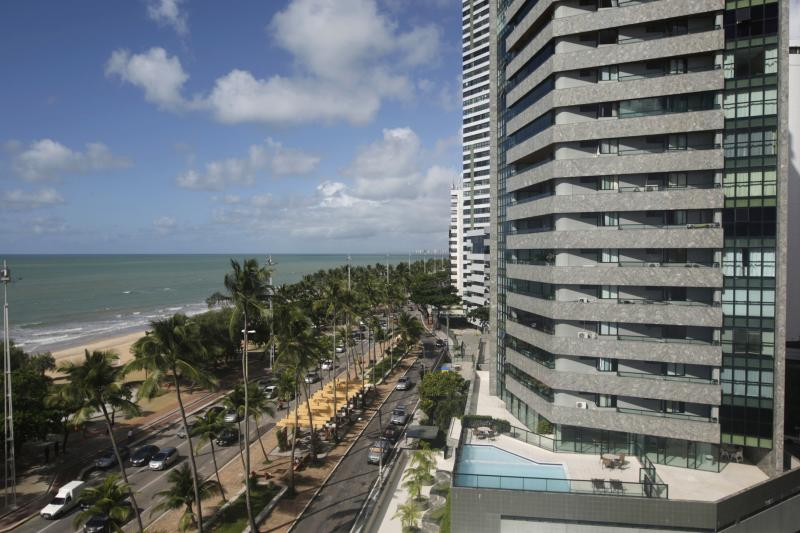 Recife in Brazil, where a middle-class boom saw dozens of luxury condominiums erected on the beach front, May 2010.