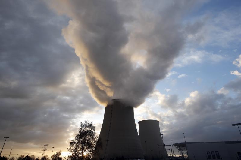 A nuclear power station at Nogent-Sur-Seine, France, November 2015.