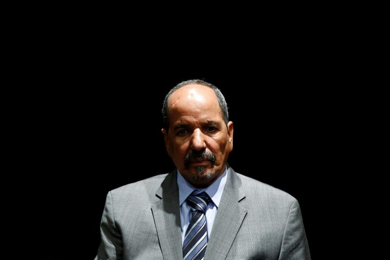Western Sahara's Polisario Front President Mohamed Abdelaziz listens to a question during an interview in Madrid November 14, 2014.
