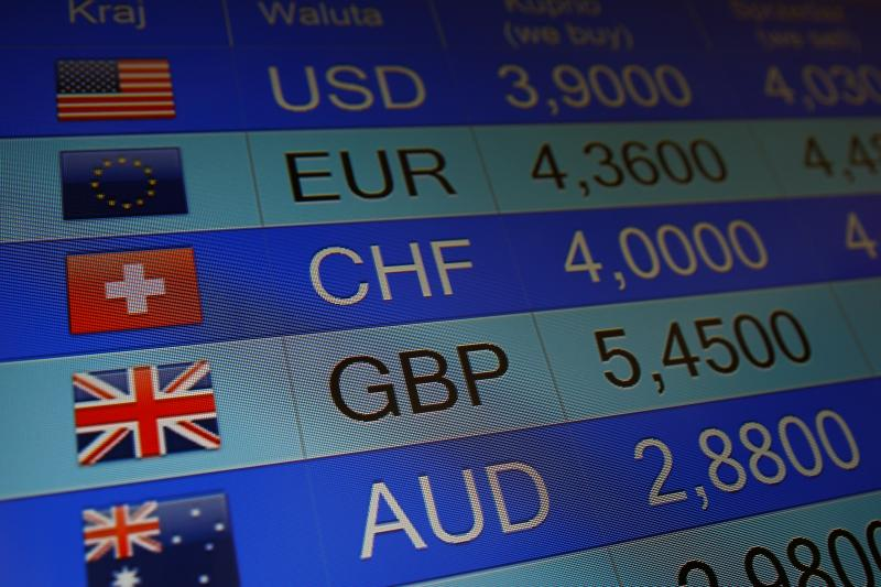 Rates of currencies, including British Pound, are displayed after Brexit referendum on an electronic board at a currency exchange in Warsaw, Poland June 24, 2016.