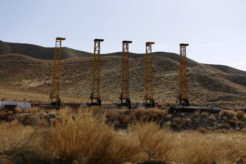 Equipment and machines installed by Chinese excavators are seen near a copper mine in Mes Aynak, Logar province February 14, 2015.