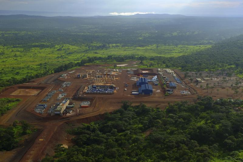 A copper mining operation in Katanga Province, February 2013.