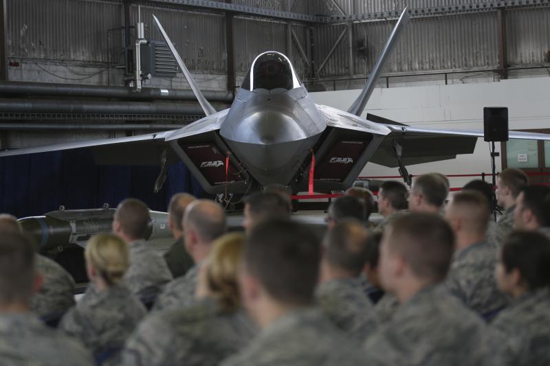 At a U.S. air base near Spangdahlem, Germany, September 2015.