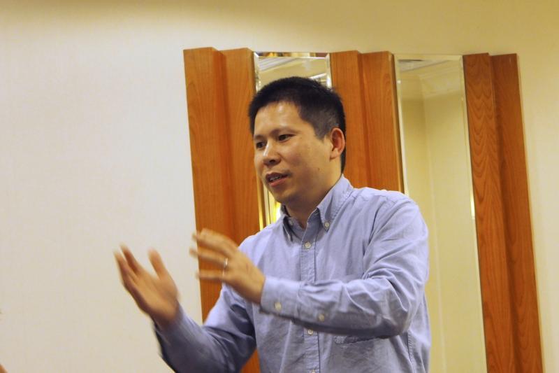 Chinese democracy activist Xu Zhiyong in Beijing, March 2013.