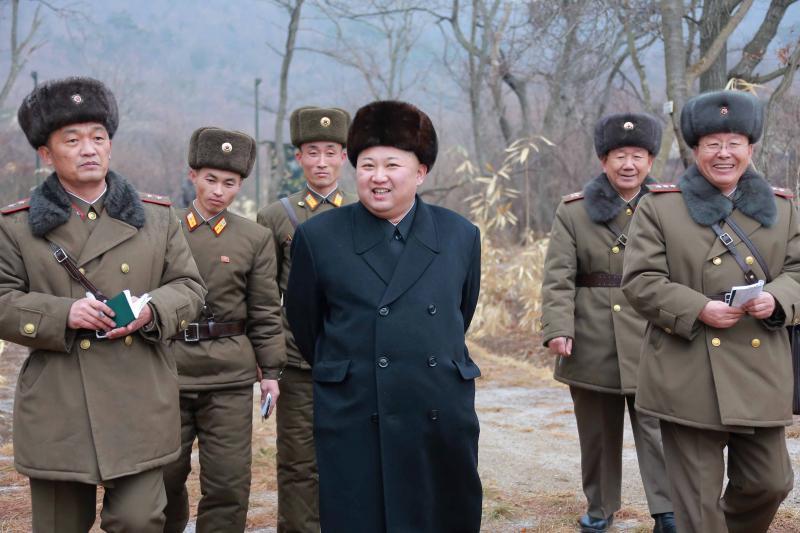 Kim Jong Un in Pyongyang, January 2017