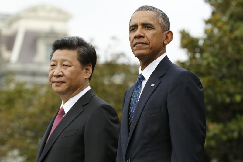 Obama and Xi at the White House, September 2015