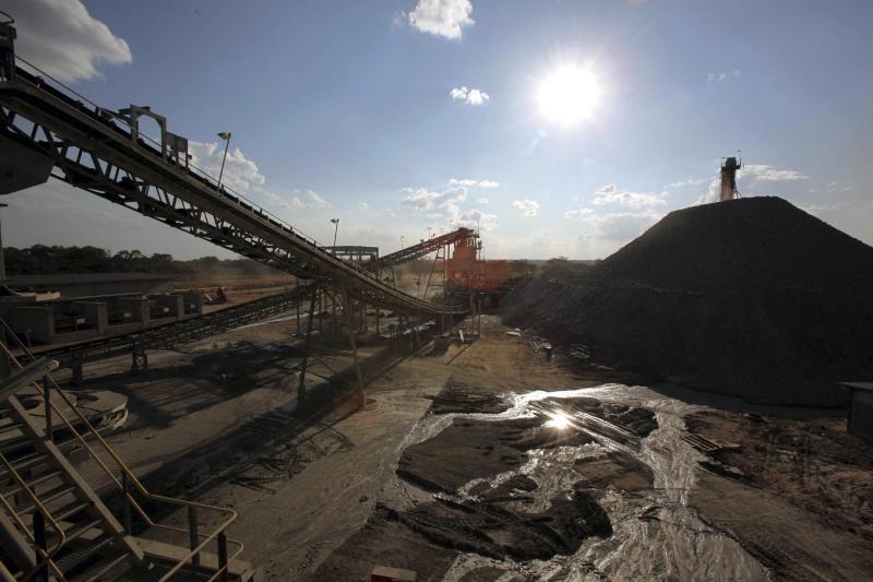 A copper mine in Fungurume, Congo, May 2010.