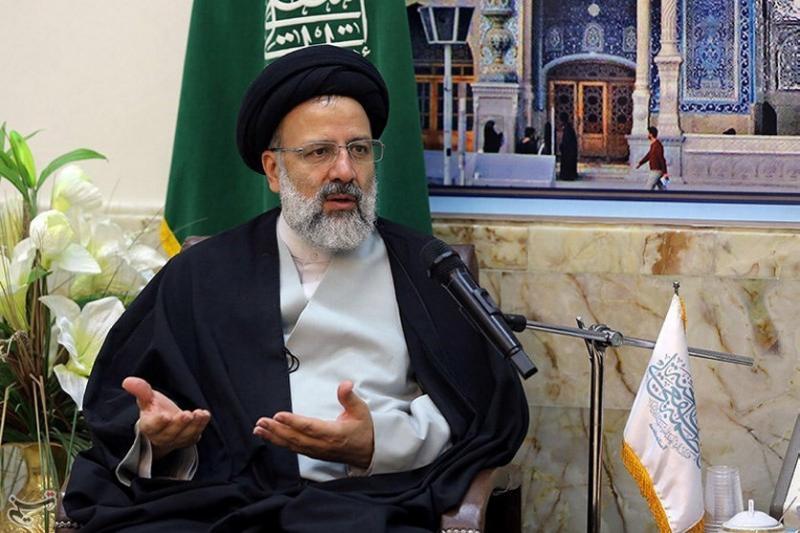 Ebrahim Raisi in Qom, Iran, April 2016.