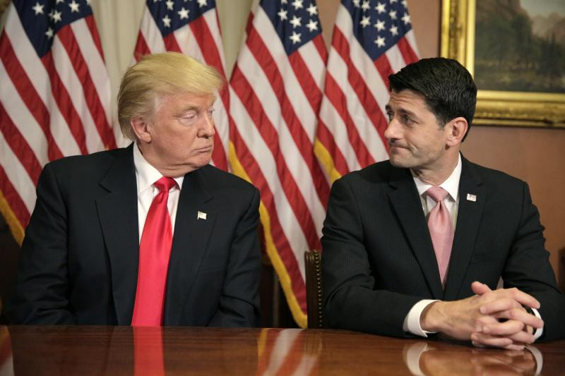 Trump and Ryan in Washington, D.C., November 2016.