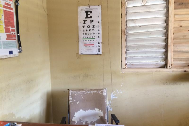 At the clinic of Rafael Fernandez in the Dominican Republic's Monte Cristi province, March 2017.