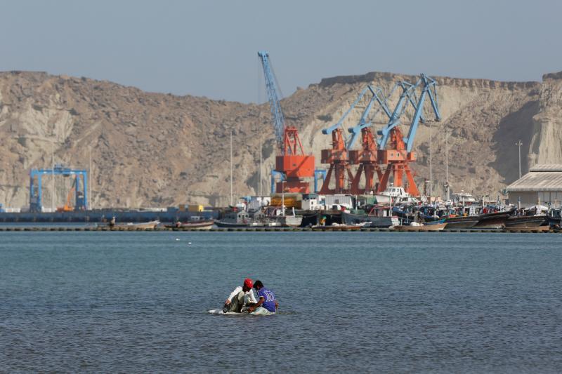 Gwadar Port, Pakistan, April 2017.