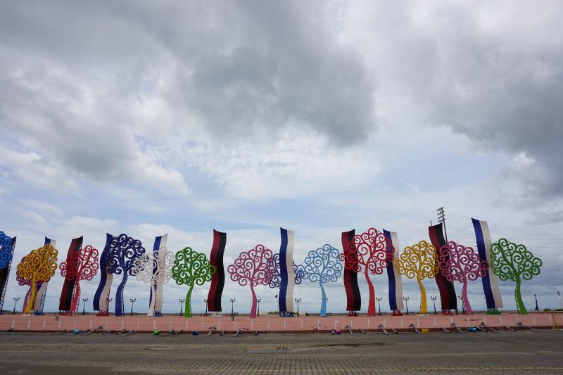 """""""Trees of Life"""" in Managua, Nicaragua, May 2017."""