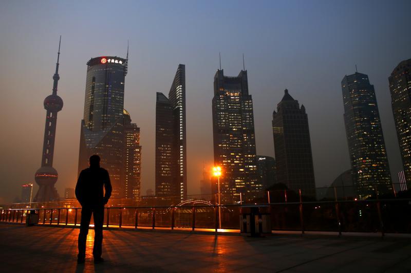Boom town: Shanghai's financial district, November 2013.