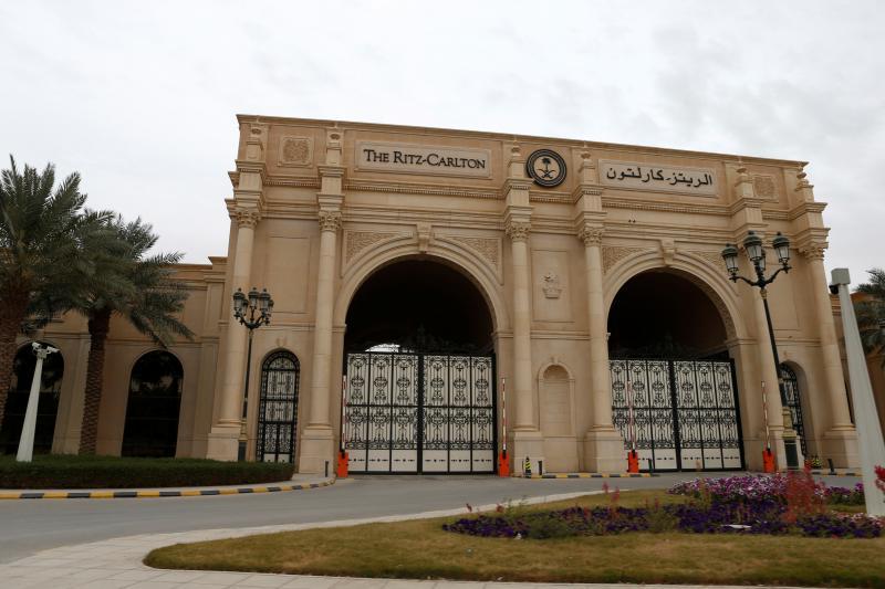 The Ritz-Carlton in Riyadh, January 2018