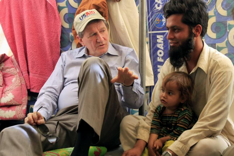I'm from America, and I'm here to help: Holbrooke in Pakistan, June 2009