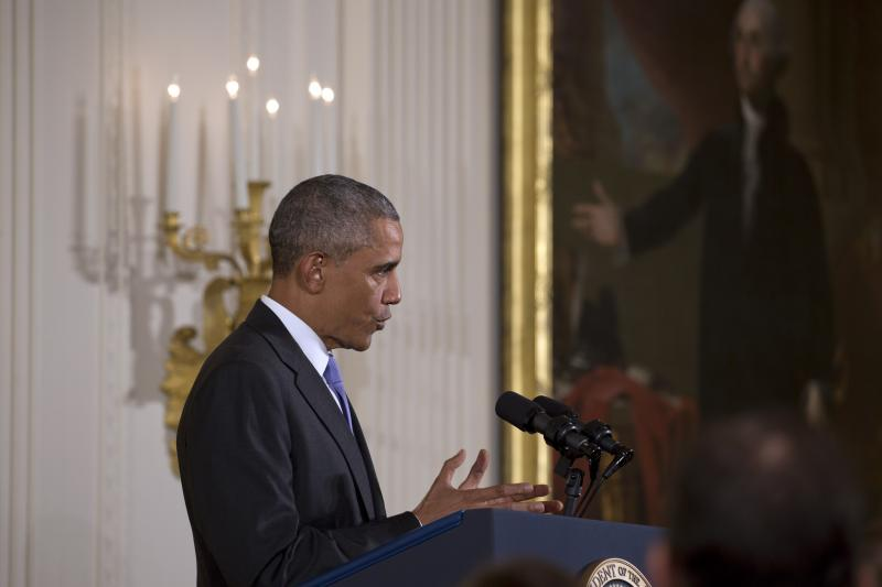 President Barack Obama discussed the nuclear accord with Iran