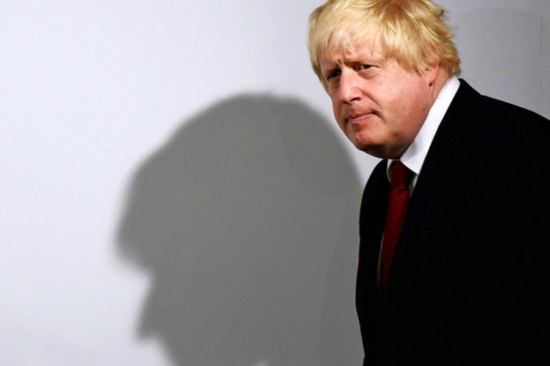 Leave campaigner, former London mayor, and current Foreign Secretary Boris Johnson, June 2016.