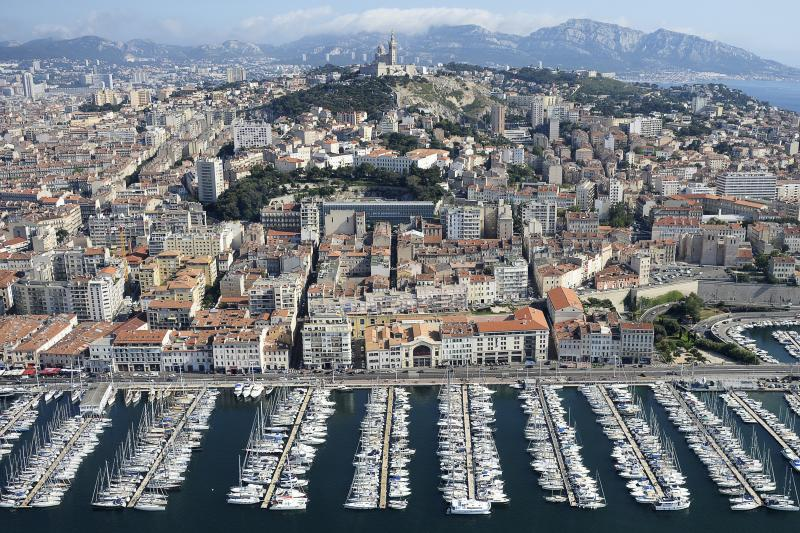 The old port of Marseille, June 2015