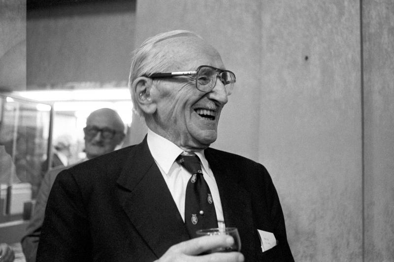 Market maker: Friedrich Hayek in London, July 1983