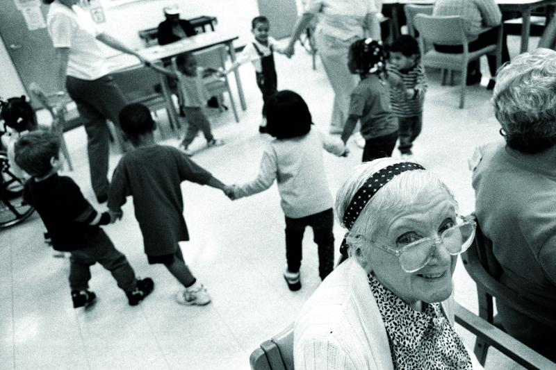 The next generation: at a day care in Florida, February 2000