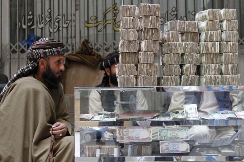 At a money market in Kandahar Province, November 2012.