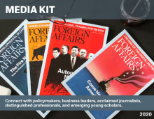 Foreign Affairs Media Kit