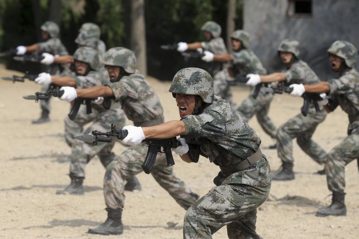 China S Double Digit Defense Growth Foreign Affairs